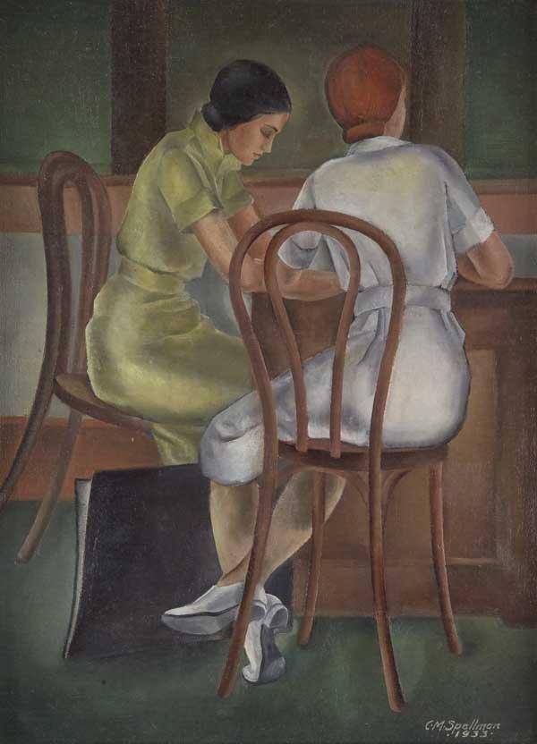 262: Coreen Mary Spellman (Am. 1905-1978)