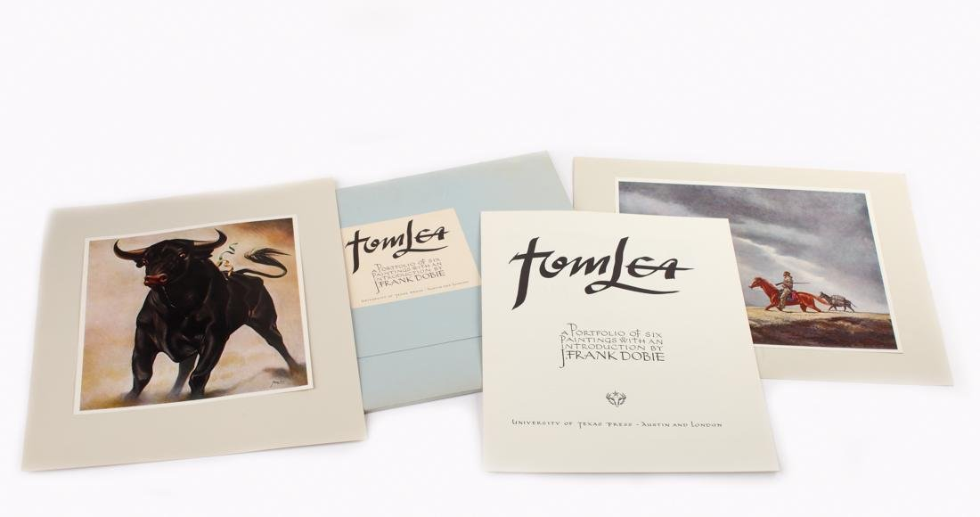 Tom Lea (am. 1907-2001), Portfolio of 6 prints,