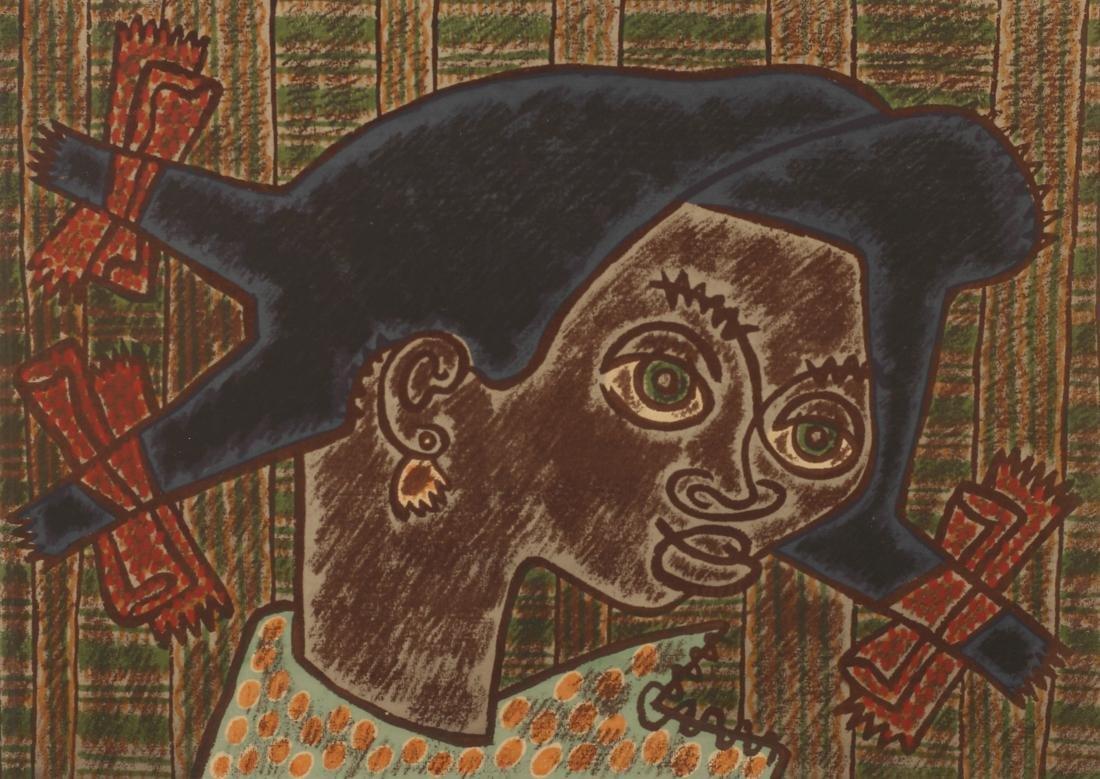 Kathleen Blackshear (Am. 1897-1988), Portrait of Helen