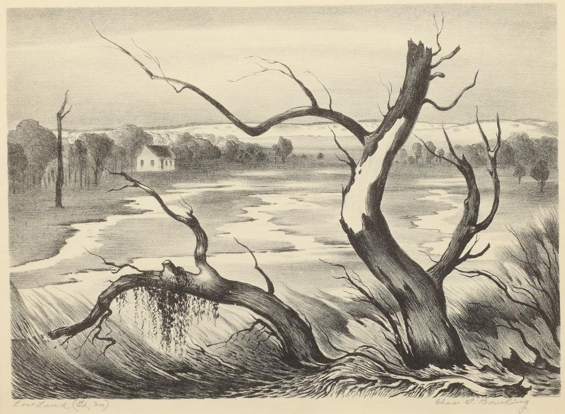 Charles T. Bowling (Am. 1891-1985), Low Land,