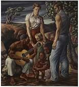 Michael Gordon Owen, Jr. (Am. 1915-1976), Untitled,