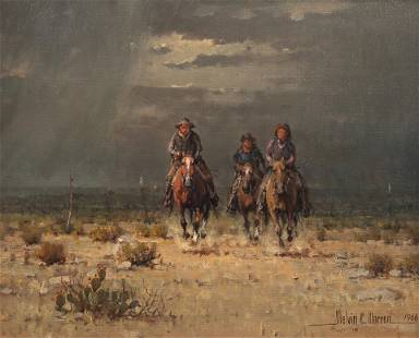 Melvin C. Warren (Am. 1920-1995), Riding for the