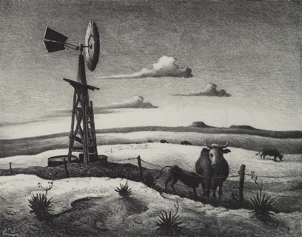 20: Thomas Hart Benton (Am. 1889-1975)