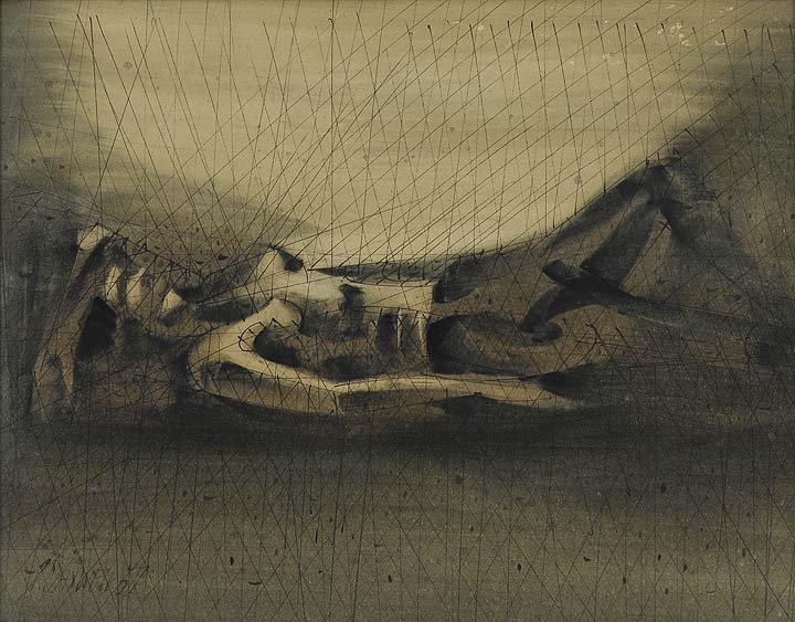 9: Reclining Figure, 1957