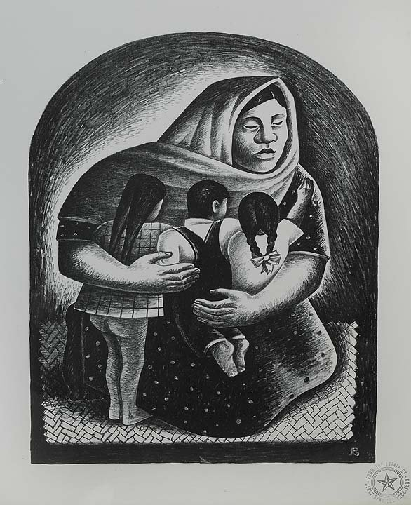 14: Mexican Mother, 1936