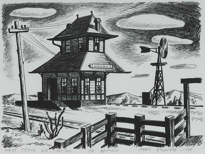 23: West Texas RR Station, Ed. 50, 1938