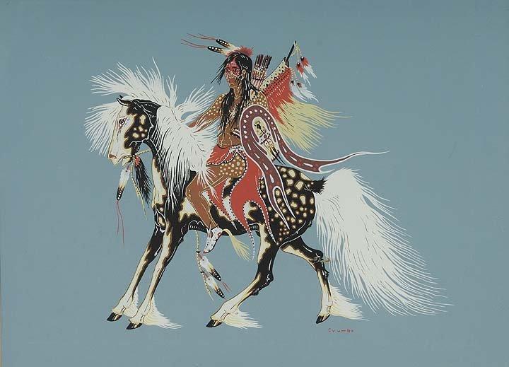 105: Indian on Horseback