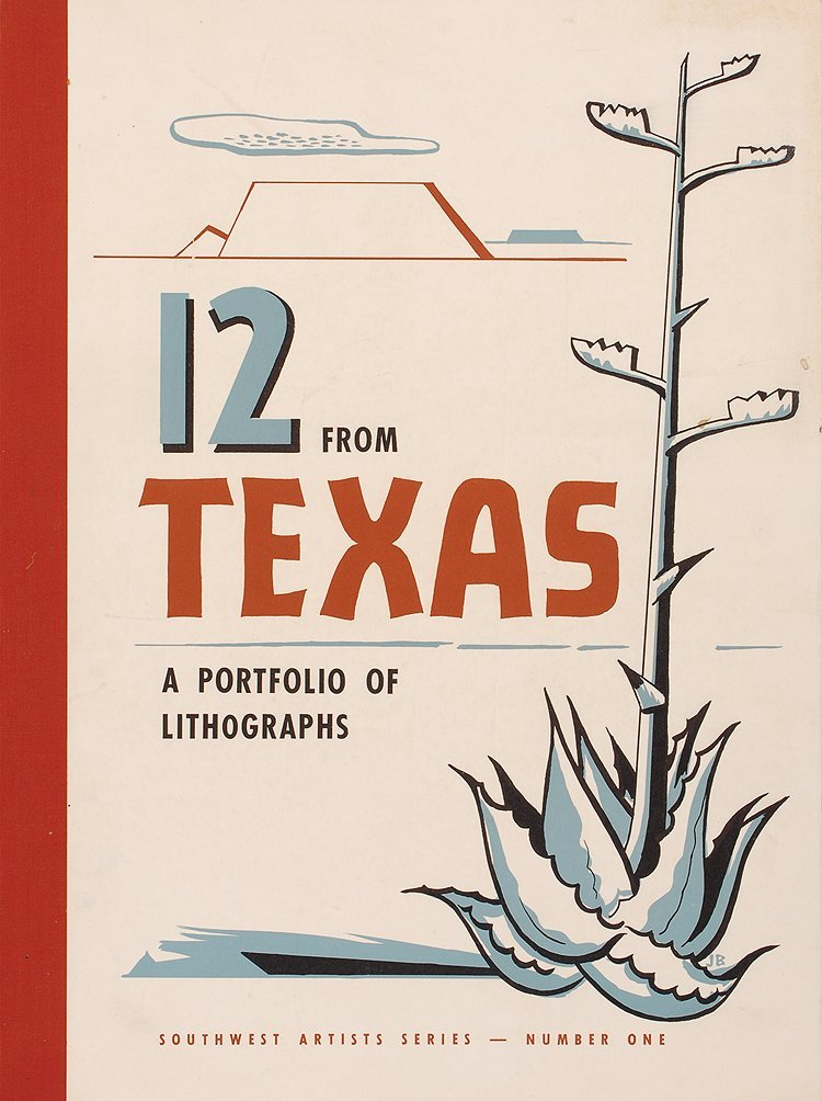 Artist Print Portfolio, 12 From Texas; Southwest