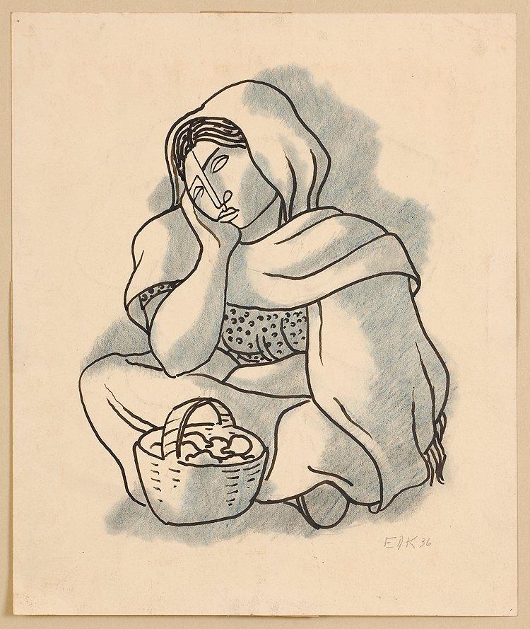 Taxco Women, 1936