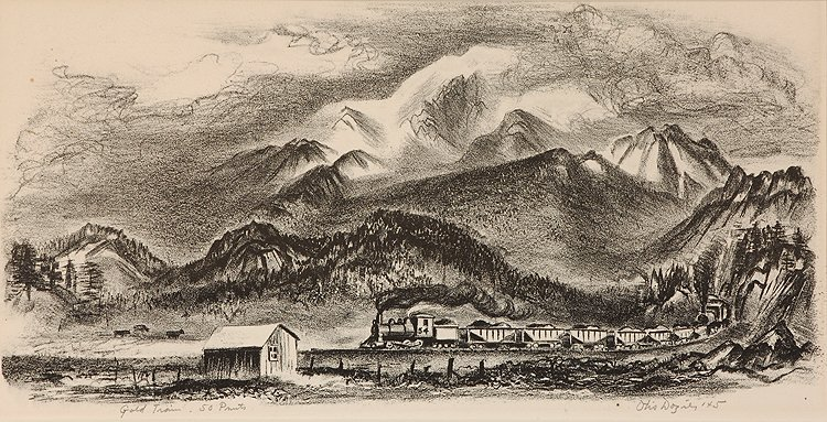 Gold Train, 50 Prints, 1945