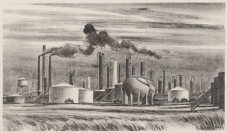 Refinery, 1948