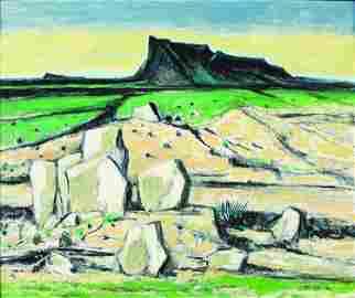 West Texas Landscape, 1984