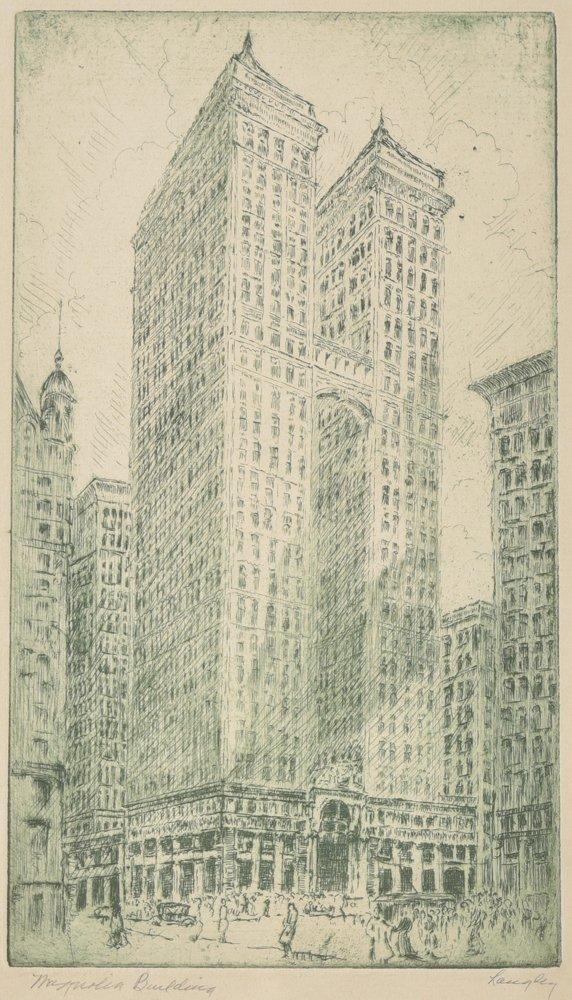 Jane Langley, Magnolia Building, Downtown Dallas,