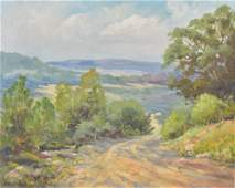 Santa Duran, Hill Country Summer, oil on canvasboard