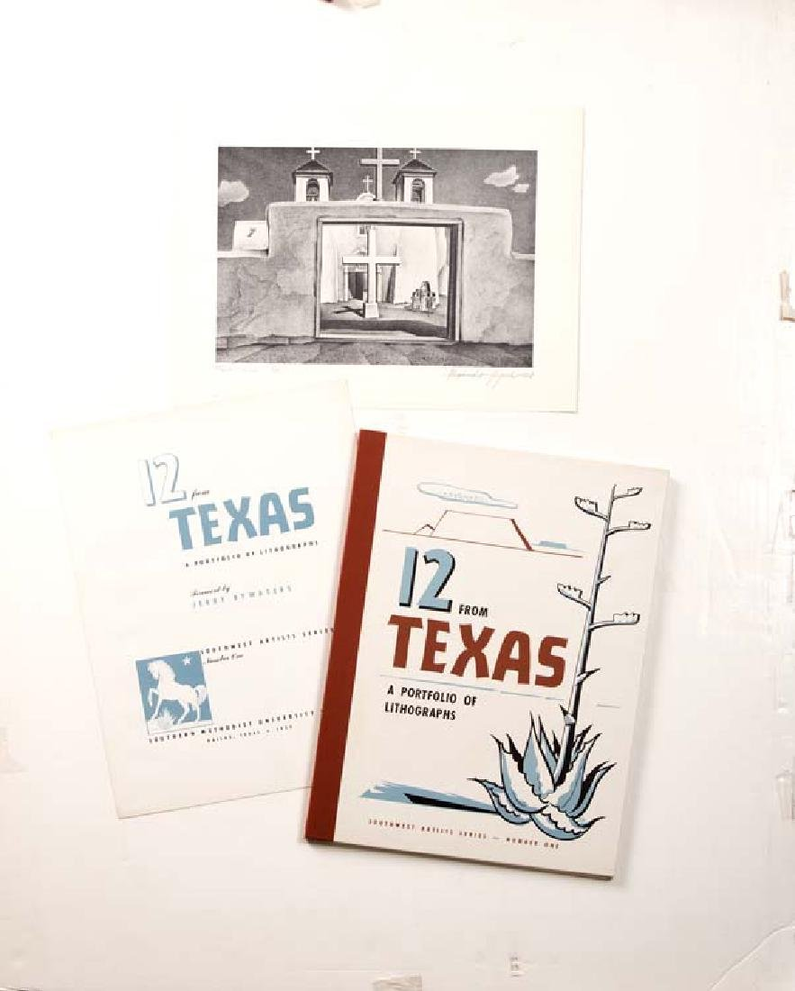 Folio: 12 From Texas A Portfolio of Lithographs;