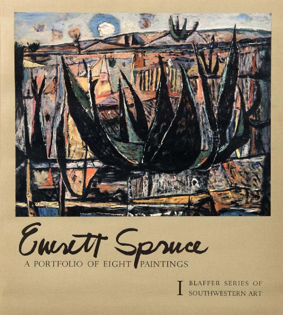 Everett Spruce, A Portfilio of 8 Paintings (prints), I