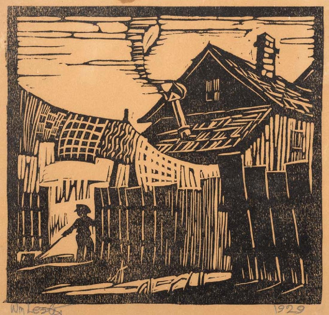 William  Lester, Old House - Little Mexico, 1929,