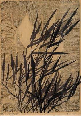 Mary  Lightfoot, Bamboo, serigraph