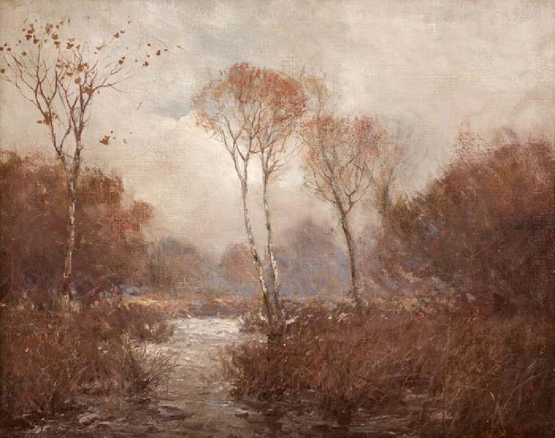 Julian Onderdonk, October Landscape, NY c. 1907-08