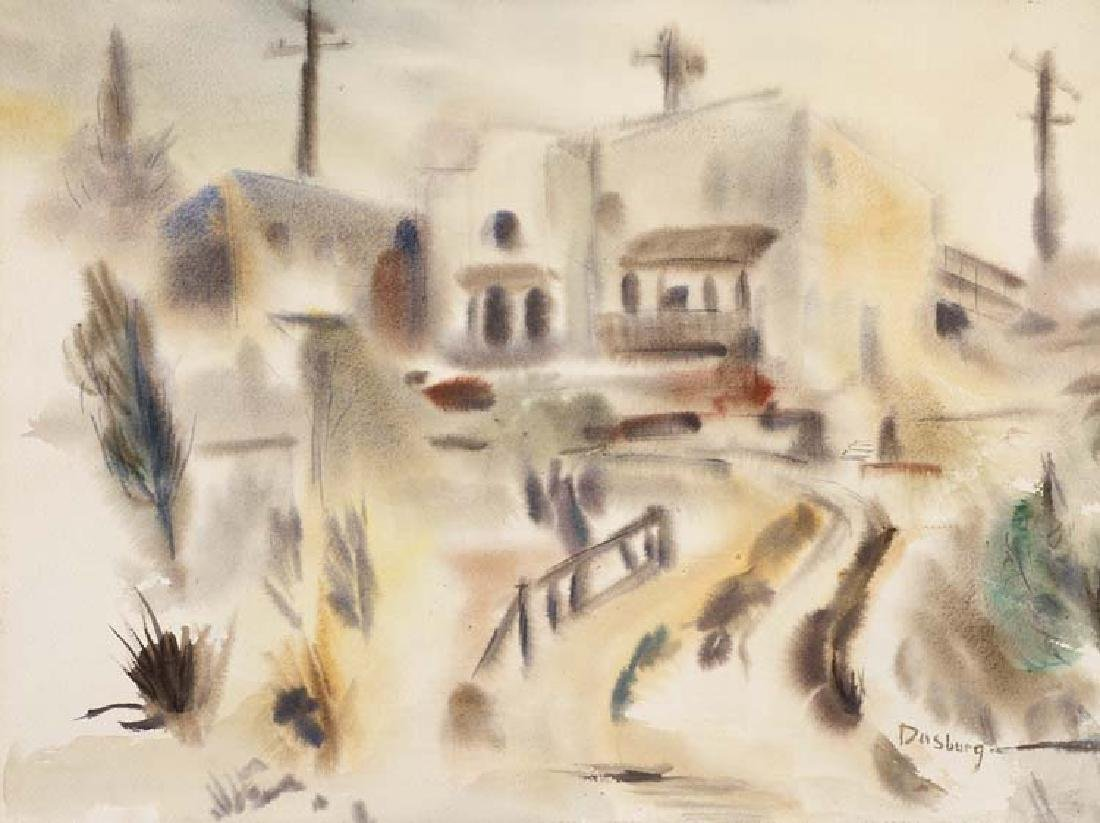 Andrew Dasburg, Untitled, watercolor on paper