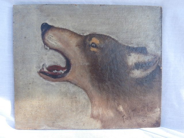 Famous Sports illustrator sketch of a wolf