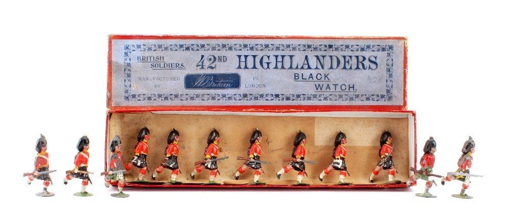 Britains set 15 Argyll and Sutherland Highlanders, in