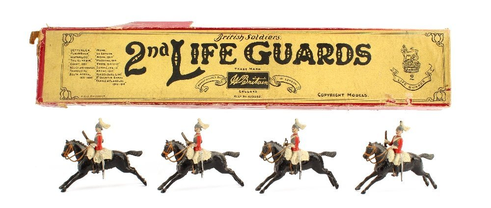 Britains set 43 The 2nd Life Guards, 1901 version, 4
