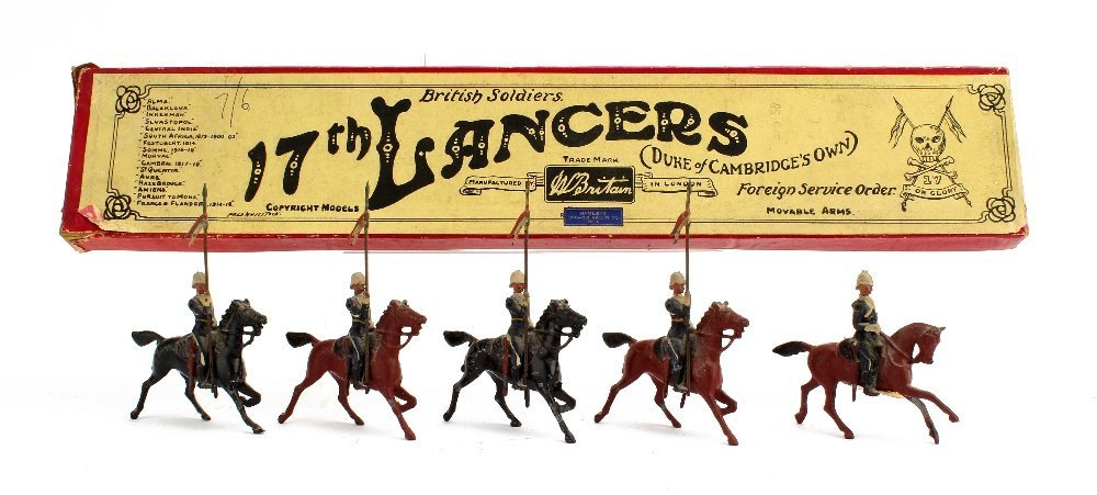 Britains set 81 The 17th - Ulundi-Lancers in Foreign