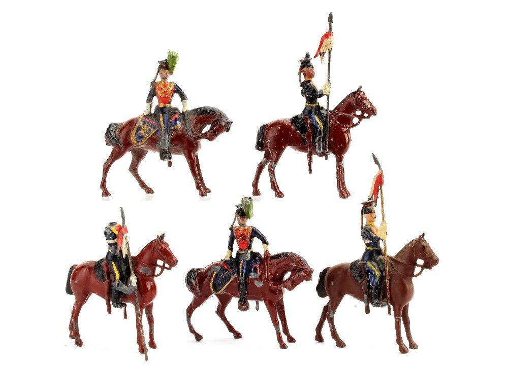 Britains Royal Irish Lancers from set 23, 1903 version,