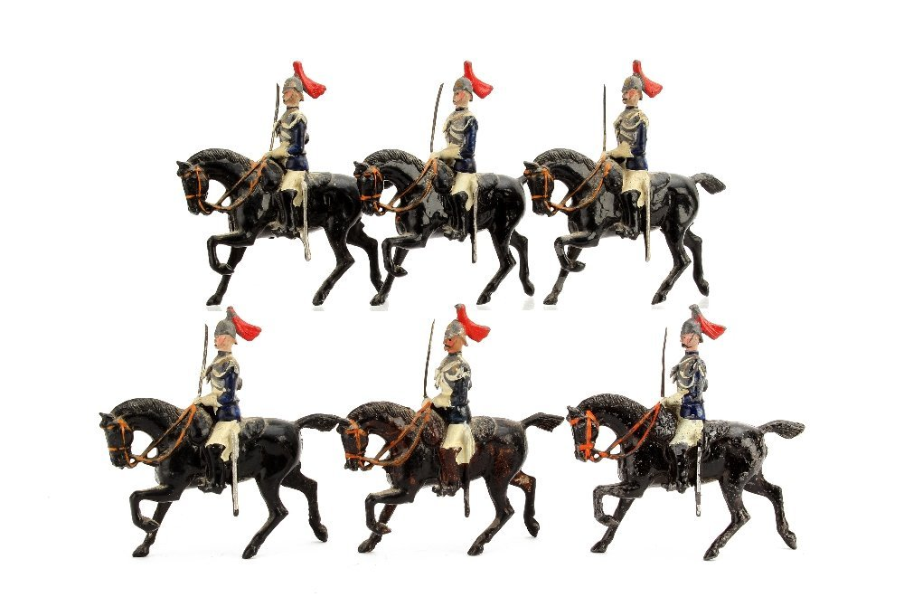 Britains Horseguards from set 2, tin sword version,