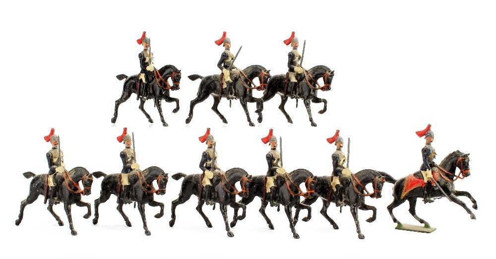 Britains Horseguards from set 2, undated, lead sword,