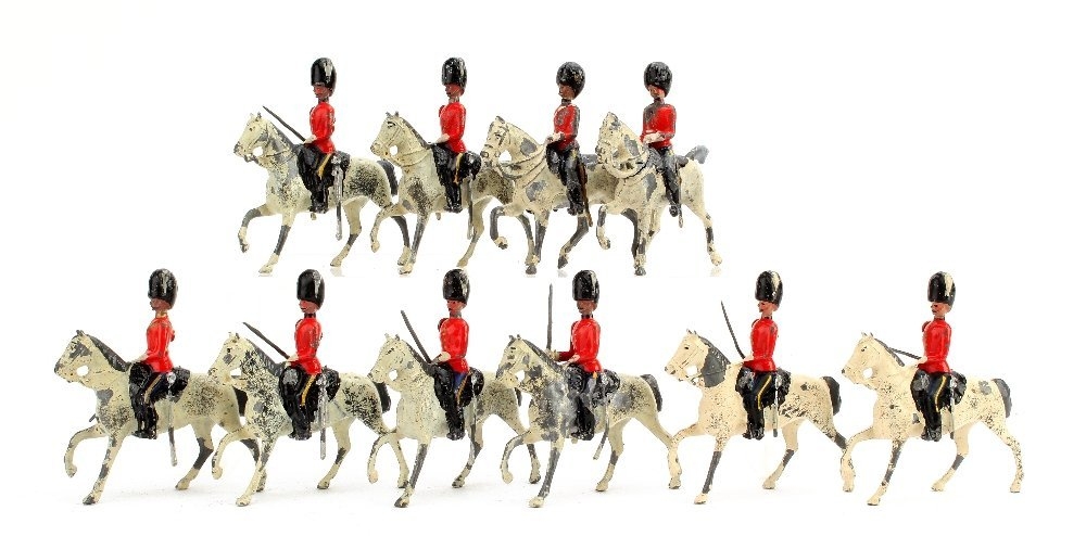 Britains 2nd Dragoons The Scots Greys, Foot Guard Head