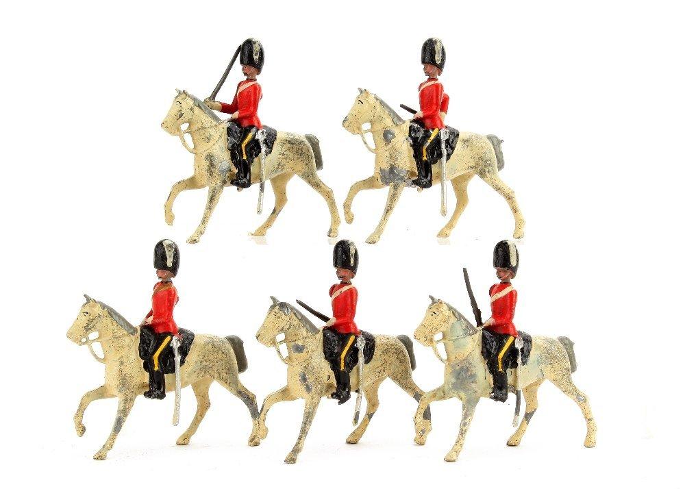 Britains set 32 The 2nd Dragoons, The Scots Greys, long