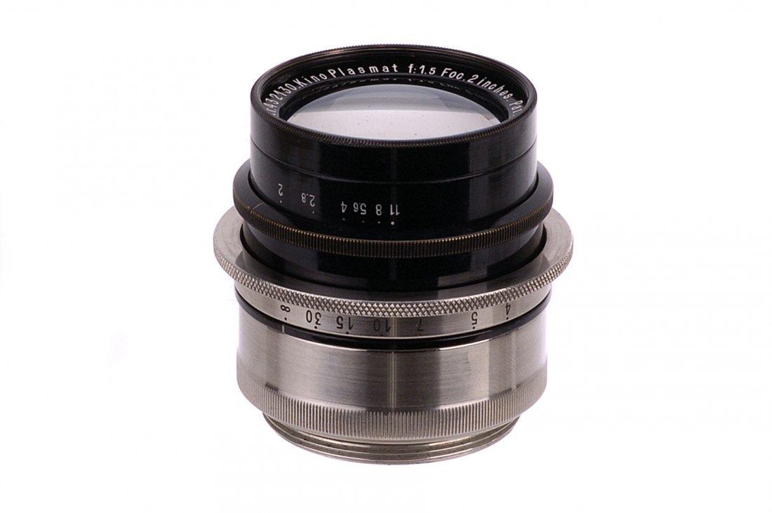 A Hugo Meyer Kino Plasmat f/1.5 2in. Lens,