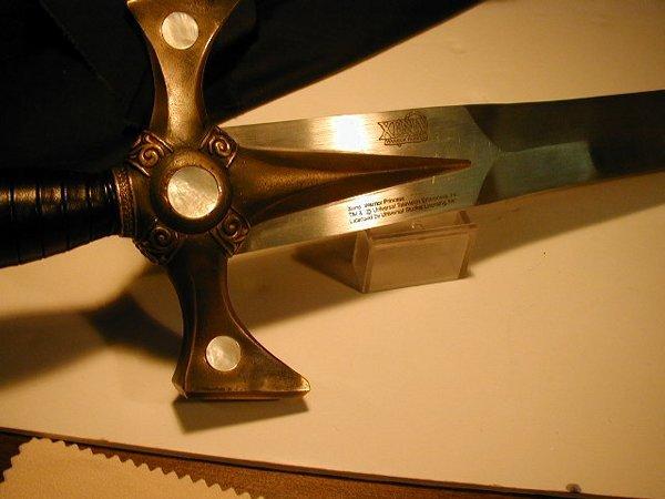 345: 1 XENA WARRIOR PRINCESS SWORD, LICENSED - 2