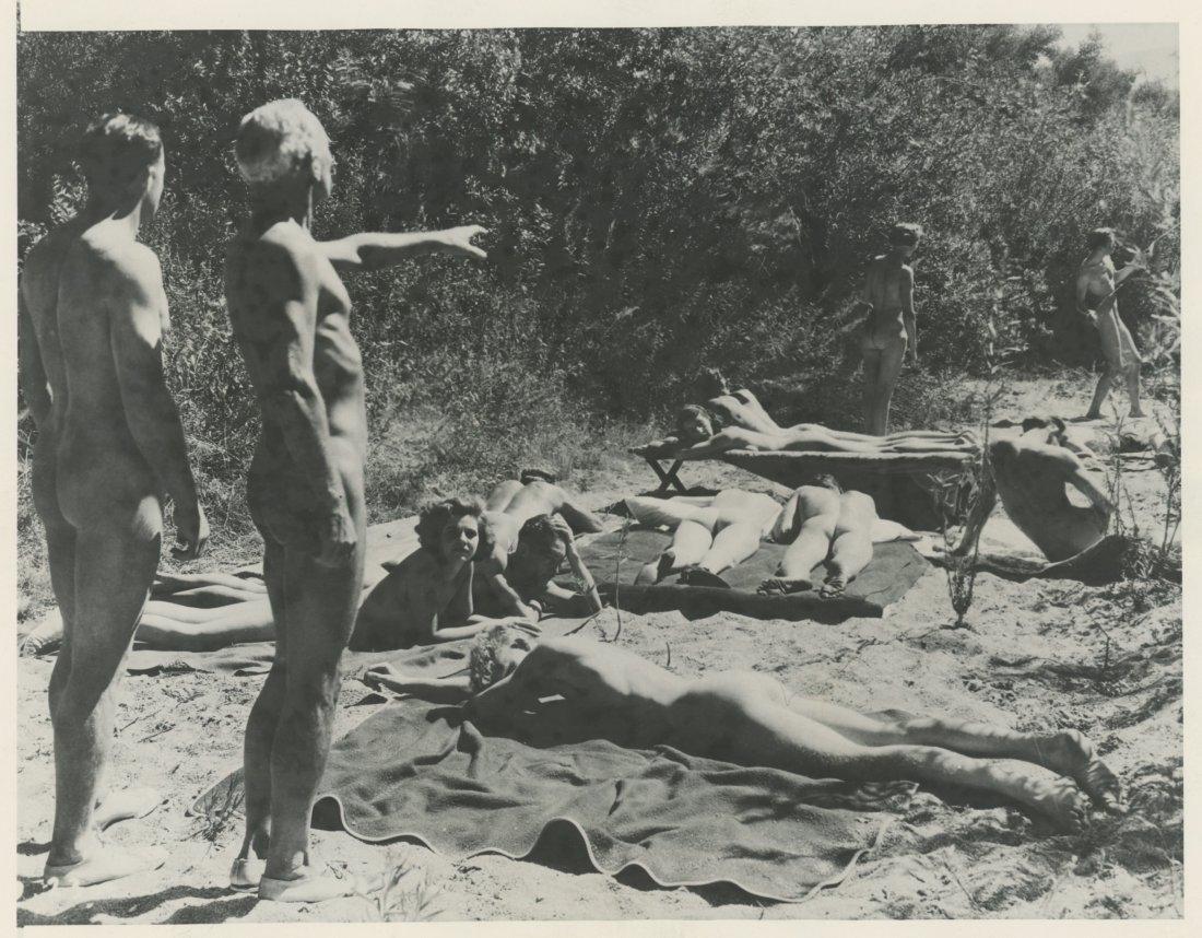 NUDISM in Elsinore, CA 1933