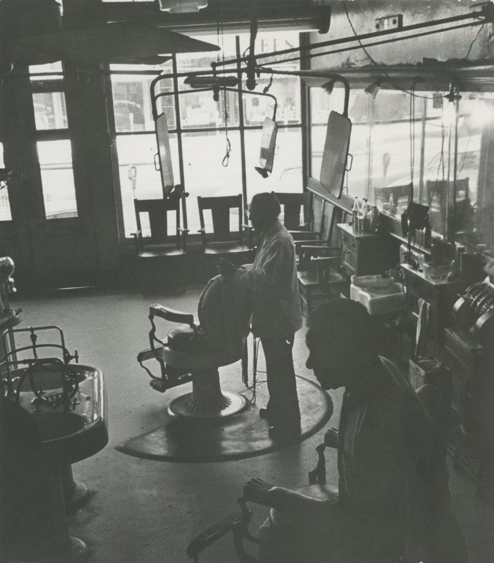 Old Barbershop on Water Street, Selma Alabama,  1973