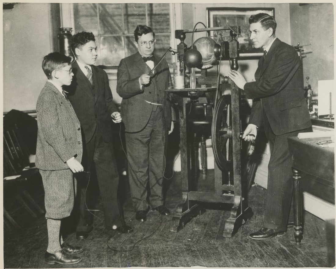 EXPERIMENTS WITH ELECTRICITY, Phila. PA 1930