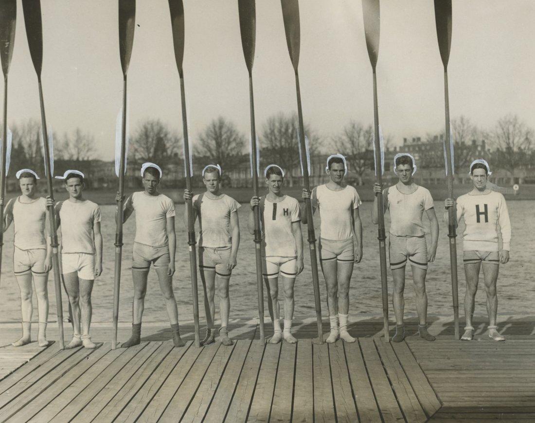 The Varsity Crew at HARVARD UNIVERSITY, 1928