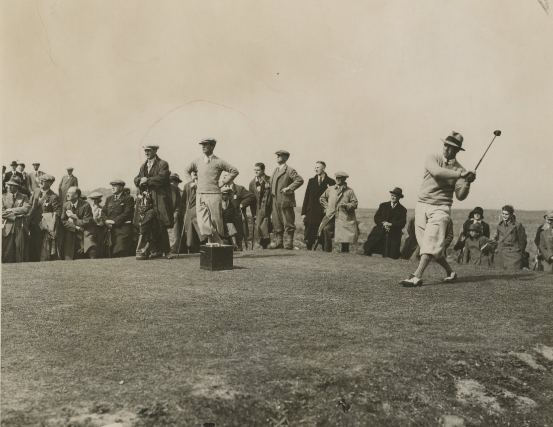 OPEN GOLF CHAMPIONSHIP IN SCOTLAND, 1929