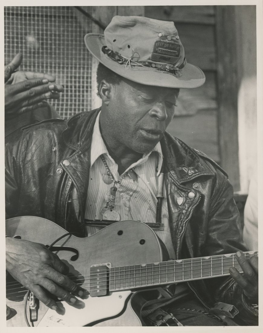 BLUES SINGER McKINLEY JAMES, Alabama 1921