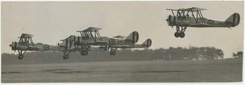 Antique Vintage  Photo Aviation Avro 626 Biplanes