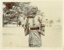 Antique Early Photo Korea Dwarf