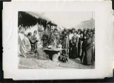 Antique Early Photo  Korea Natural Medicine Sellers