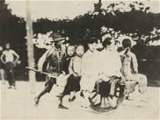 Antique Early Photo Transportation in Korea  China