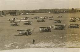 Vintage Original Photo Aviation Bristol Bulldogs