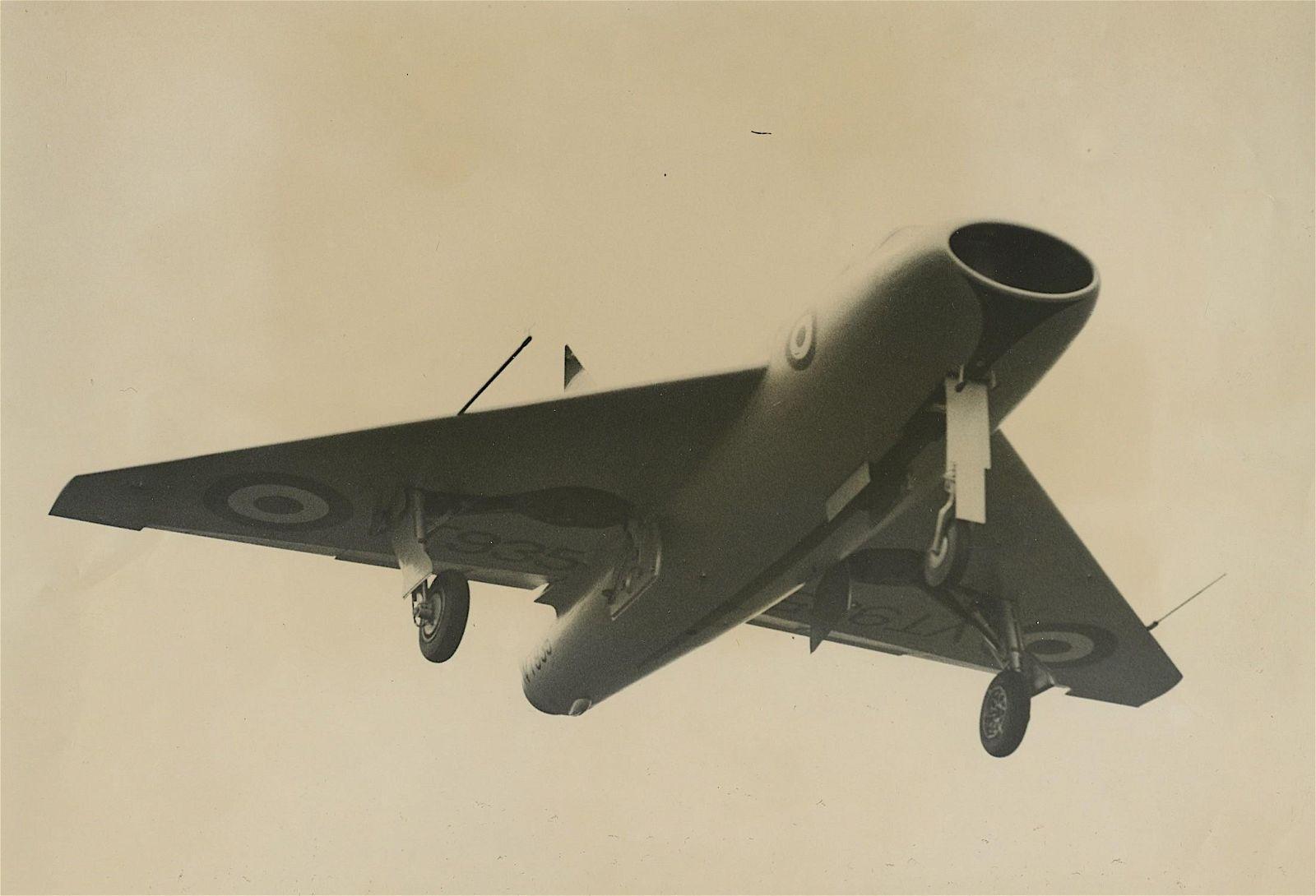 Vintage Original Photo Aviation Boulton Paul