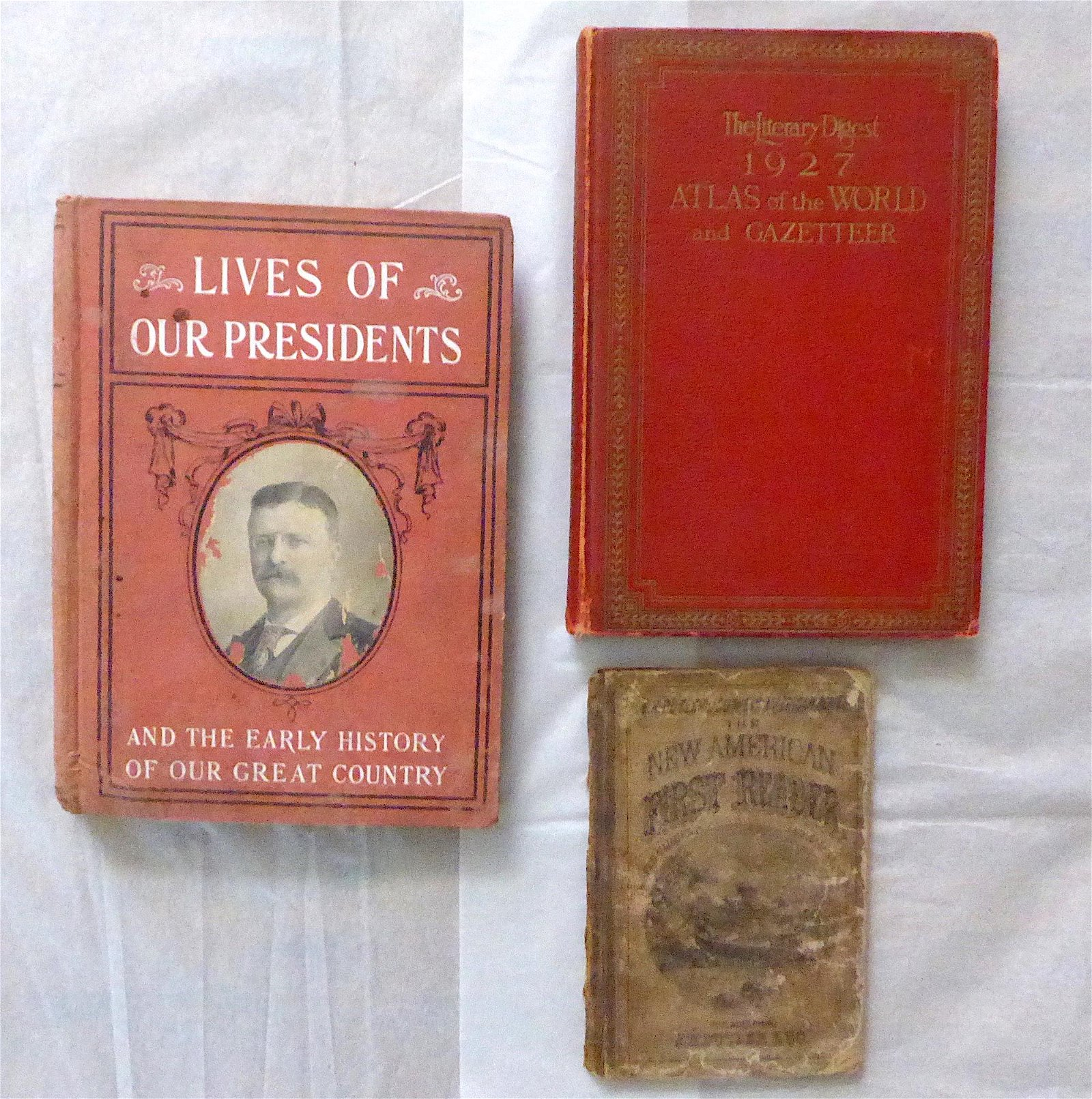 Group of Three Antique / Vintage Books