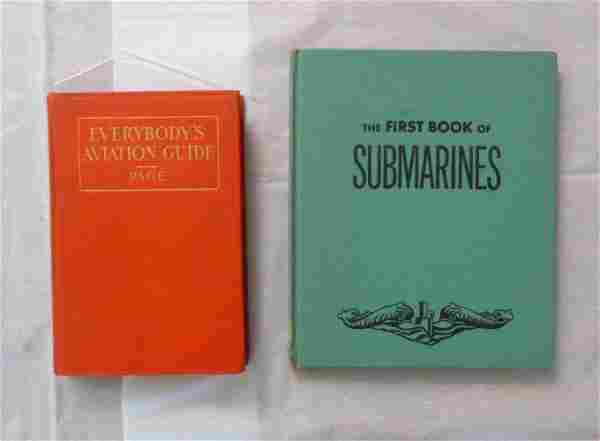 Group of Two Antique Vintage Books