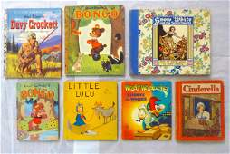 Group of Seven Antique / Vintage Children Books